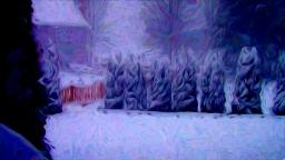 Van Gogh Snowfall