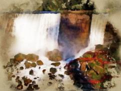 Bridal Veil Falls at Niagara