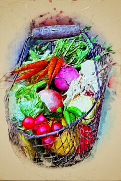 #39 Basket of Vegetables