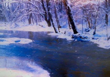 Mill Creek Winter 1977